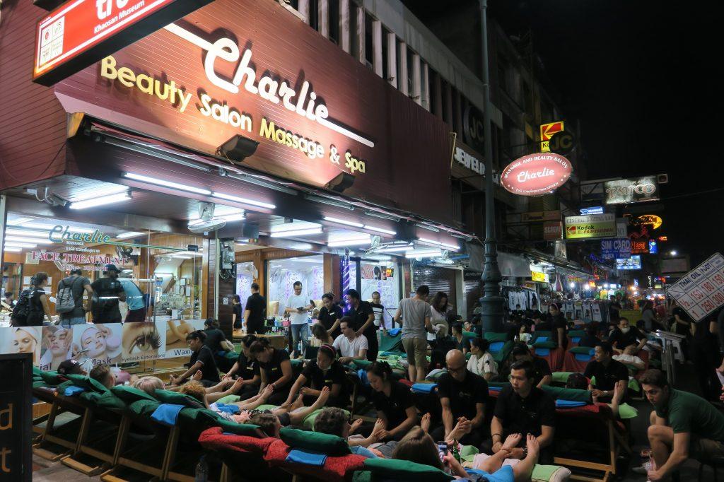 Tayland Bangkok Masaj