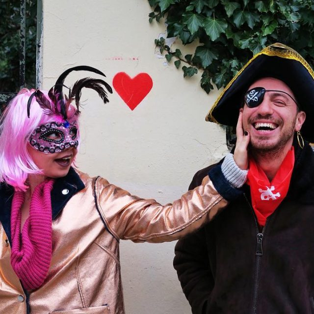 Yunanistan skee Karnaval rengarenk oykununoykuleri xanthi iskee iskecekarnavali festival fest